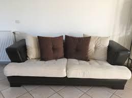 canapé cuir et tissu achetez canapé cuir et tissu occasion annonce vente à linas 91