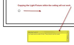 Light Fixture Problems Fix Light Fixture Copy Problems In Revit Ceilings Imaginit