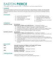 Resume Examples Social Work Resume For Human Services Worker Free Resume Example And Writing