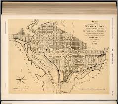 Map Of Washington Dc by Plate 158 Washington D C 1793 Facsimile David Rumsey