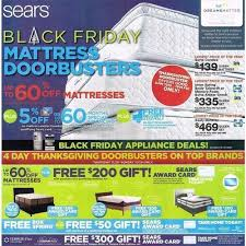 appliances deals black friday sears black friday mattress doorbusters