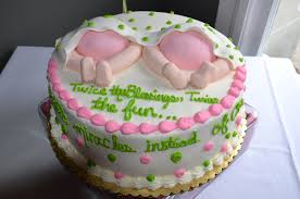 twin baby shower cake ideas baby shower diy