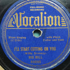 Bill Likes To Travel Be - big bill broonzy i ll start cutting on you time travel at 78rpms