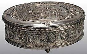 antique dish ring holder images Antique silver plate price and value guide jpg