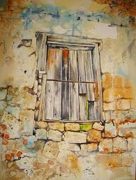 Painting Stone Walls In Watercolour
