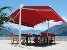Red Rectangular Patio Umbrella Best 25 Large Patio Umbrellas Ideas On Pinterest All Things