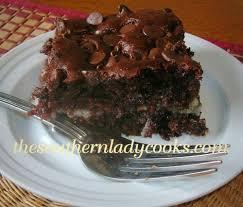 chocolate earthquake cake the southern lady cooks