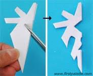 Paper Craft Steps - paper snowflake craft crafts firstpalette