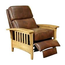 mission oak recliner mission style recliner mission reclining