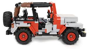 lego jeep set lego ideas ucs jurassic park jeep wrangler