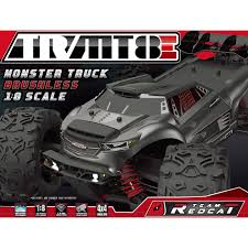 team redcat tr mt8e 1 8 scale brushless monster truck