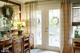 top five diy patio door window treatments