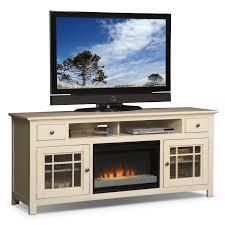 Modern White Tv Table Stand Merrick 74