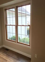 Painting Wood Windows White Inspiration Window Trim And Baseboard Style But Stained Not White Floors