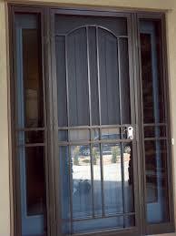 iron screen door images door design ideas