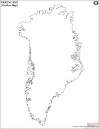 Blank Map Of Spain by Blank Map Of Greenland Greenland Outline Map