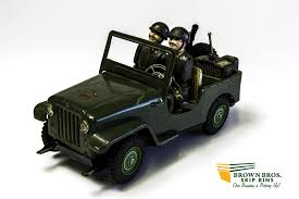 army jeep japanese army command jeep brown bros skip bins