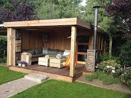 bureau de jardin en kit stunning chalet de jardin avec mezzanine photos design trends 2017