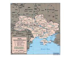 Kiev Map Maps Of The Ukraine Detailed Map Of The Ukraine In English And