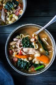 turkey minestrone soup feasting at home