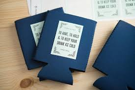 koozie wedding favor personalized koozie wedding favors weddings ideas from evermine
