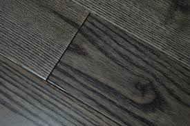 stained ash hardwood flooring black color white ash