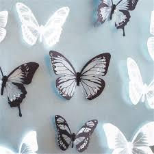 100 home decor butterflies yellow orange butterfly
