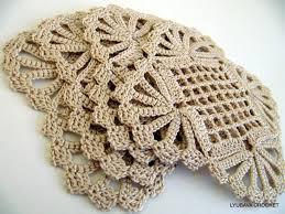 crochet coaster pattern shabby chic decor diy coasters crochet