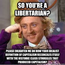 What Is The Definition Of Meme - so you re a libertarian please enlighten me on how your idealist