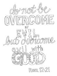 romans 12 21 coloring page u2013 from victory road