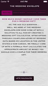 wedding gift calculator twe on the app store