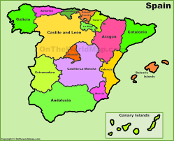 Leon Mexico Map by Spain Political Map