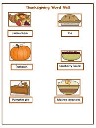 portable thanksgiving word wall for students by mcleod tpt
