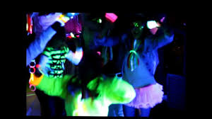 glow in the birthday party harlem shake neon glow style 13th birthday party