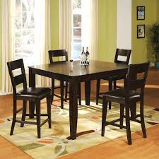 holland house bend 5 piece square top table and ladder back chair