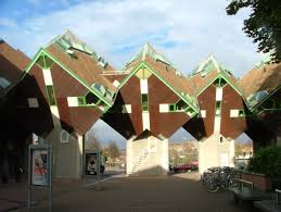 Weird House 35 Interesting Photos Of Cube House In Rotterdam Netherlands