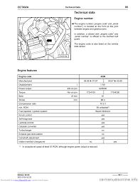 skoda octavia 1997 1 g 1u 1 8 92kw engine workshop manual