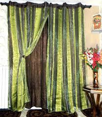 rideaux pas cher rideaux pas cher con decoration marrons rideau marron vert