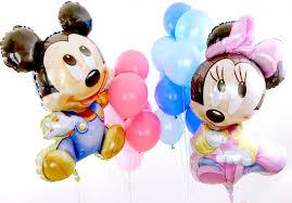 baby mickey u0026 minnie balloon bouquet mickey mouse shower