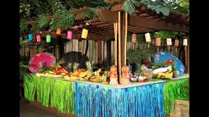 colorful hawaiian decorations