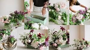 Wedding Flowers Denver Lush Spring Centerpiece Tutorial Denver Wedding Flowers Bare