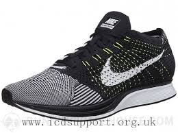 Nike Racing sale mens road racing shoes nike flyknit racer black white