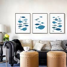 high quality abstract fish paintings promotion shop for high
