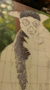 how to u2026 paint a lemur animal art by imi