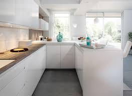 photo cuisine blanche cuisine design blanche stunning cuisine noir et blanc pictures