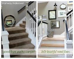 Staircase Makeover Ideas with My 2012 Home Project Roundup The Inspired Room