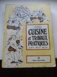 livre de cuisine cap livre cuisine et travaux pratiques cap bep bth planche j