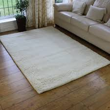 White Rugs Buy Deep Wool Pile Karma White Rug Land Of Rugs
