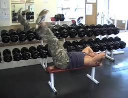 Leg Raise On Bench Lying Bench Leg Raise Video Exercise Guide U0026 Tips