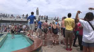 carnival cruise ship lido deck pool party fun awesome may 2012